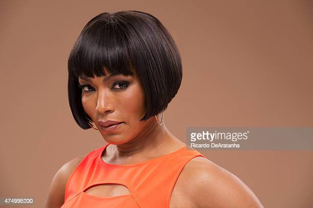 Actress Angela Bassett is photographed for Los Angeles Times on May 20 2015 in Los Angeles California PUBLISHED IMAGE CREDIT MUST READ Ricardo...