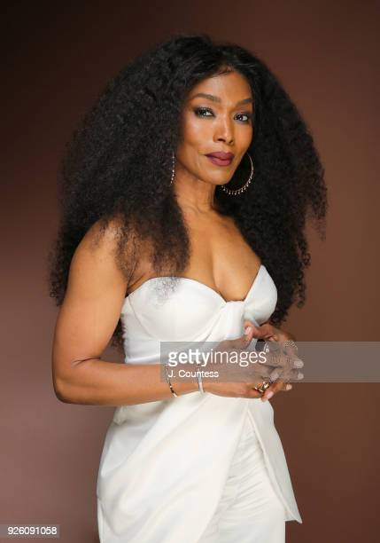 Actress Angela Bassett poses for a portrait at the Beverly Wilshire Four Seasons Hotel on March 1 2018 in Beverly Hills California