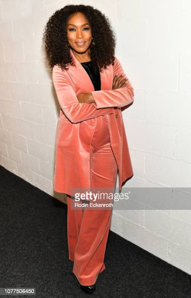 Actress Angela Bassett poses for portrait at MoMA Contenders 2018 Screening and QA of Black Panther at Hammer Museum on December 04 2018 in Los...