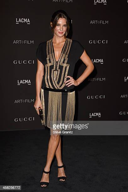 Actress Angela Bellotte attends the 2014 LACMA Art Film Gala honoring Barbara Kruger and Quentin Tarantino presented by Gucci at LACMA on November 1...