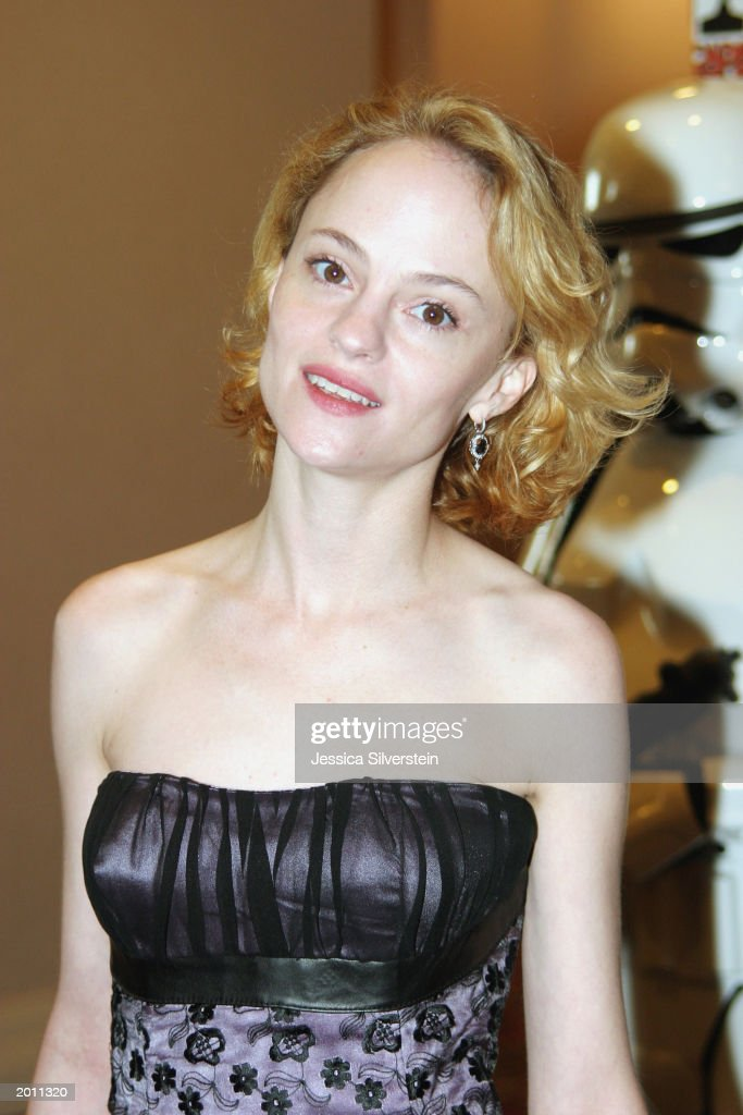 Actress Angela Bettis at The 29th Annual Saturn Awards presented by Cinescape at the Renaissance Hollywood Hotel May 18, 2003 in Hollywood, LA.