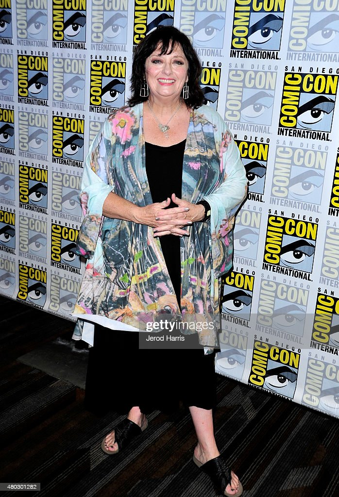 Actress Angela Cartwright attends 'Lost In Space' Press Room during Comic-Con International 2015 at Hilton Bayfront on July 10, 2015 in San Diego, California.