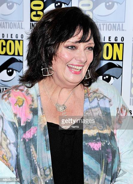 Actress Angela Cartwright attends 'Lost In Space' Press Room during ComicCon International 2015 at Hilton Bayfront on July 10 2015 in San Diego...