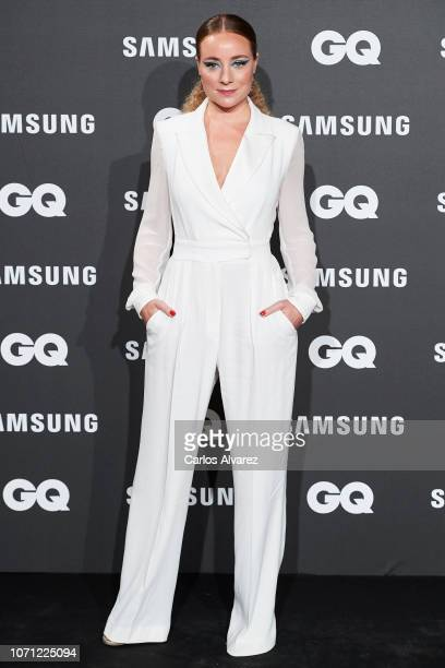 Actress Angela Cremonte attends the 2018 GQ Men of the Year awards at the Palace Hotel on November 22 2018 in Madrid Spain