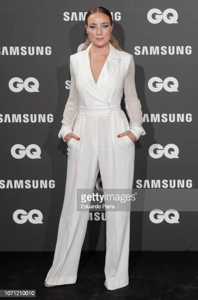 Actress Angela Cremonte attends the 'GQ Men of the Year' awards photocall at Palace hotel on November 22 2018 in Madrid Spain
