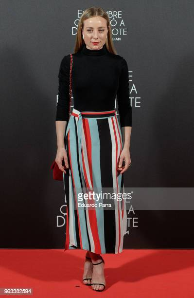 Actress Angela Cremonte attends 'The Man Who Killed Don Quixote' premiere at Dore cinema on May 28 2018 in Madrid Spain