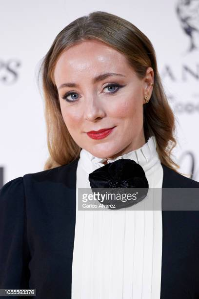 Actress Angela Cremonte attends Woman awards 2018 at the Casino de Madrid on October 30 2018 in Madrid Spain
