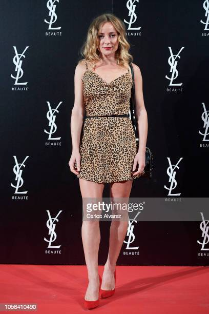 Actress Angela Cremonte attends 'YSL Beaute THE SLIM Rouge PurCouture' party at the Santona Palace on November 6 2018 in Madrid Spain