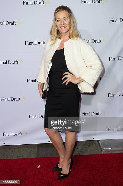 Actress Angela Featherstone arrives at the 10th Annual Final Draft Awards at the Paramount Theater on the Paramount Studios lot on February 12 2015...