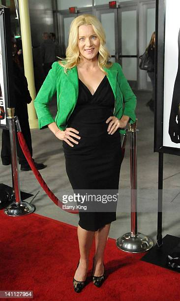 Actress Angela Featherstone arrives at the Los Angeles Premiere 'Gone'at ArcLight Hollywood on February 21 2012 in Hollywood California