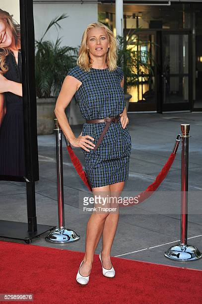 Actress Angela Featherstone arrives at the world premiere of Universal Pictures' 'Funny People' held at the ArcLight Theater in Hollywood