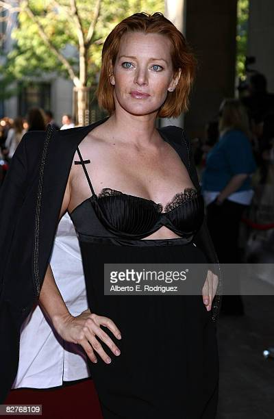 Actress Angela Featherstone arrives at 'What Doesn't Kill You' premiere during the 2008 Toronto International Film Festival held at Ryerson Theatre...