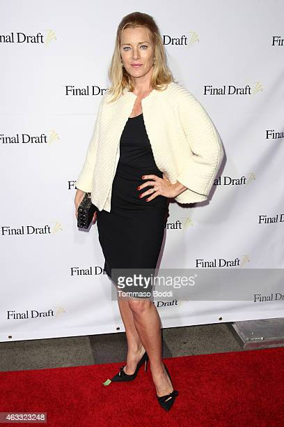 Actress Angela Featherstone attends the 10th Annual Final Draft Awards held at Paramount Theater on the Paramount Studios lot on February 12 2015 in...