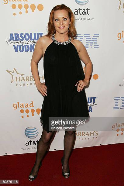 Actress Angela Featherstone attends the 19th Annual GLAAD Media Awards held at the Kodak Theatre on April 26 2008 in Hollywood California