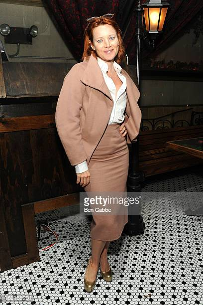 Actress Angela Featherstone attends the 'Big Sur' premiere after party at Hotel Chantelle on October 28 2013 in New York City