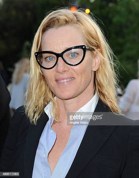 Actress Angela Featherstone attends the Wine Women Shoes Event benefiting The Children's Action Network event at a private residence on May 6 2014 in...