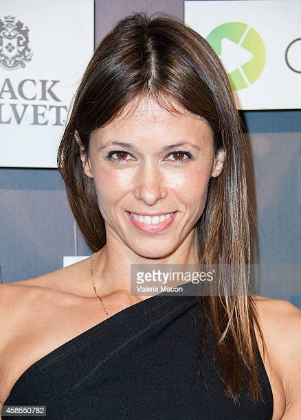 Actress Angela Gots arrives at the Colaboratorcom Launch Party at Milk Studios on November 6 2014 in Los Angeles California