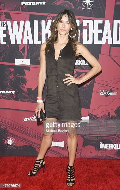 Actress Angela Gots attends Overkill's The Walking Dead on June 13 2015 in West Hollywood California