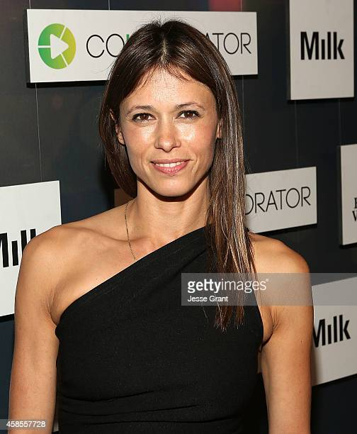 Actress Angela Gots attends the Colaboratorcom Launch at Milk Studios on November 6 2014 in Hollywood California