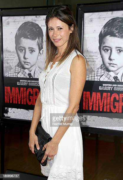 Actress Angela Gots attends the 'Immigrant' Film Premiere at Laemmle's Music Hall 3 on October 25 2013 in Beverly Hills California