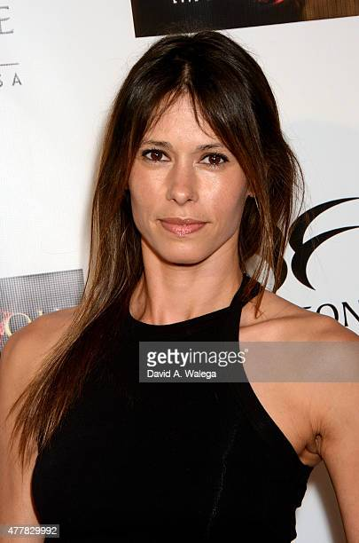 Actress Angela Gots attends the 'PERNICIOUS' premiere at Arena Cinema Hollywood on June 19 2015 in Hollywood California