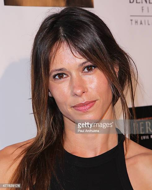 Actress Angela Gots attends the premiere PERNICIOUS at Arena Cinema Hollywood on June 19 2015 in Hollywood California