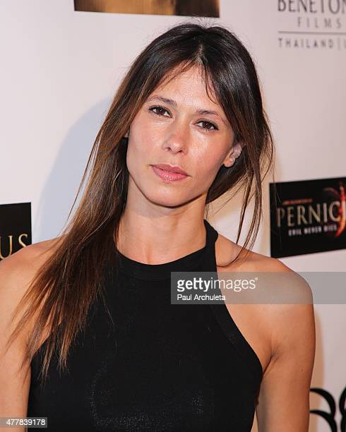 Actress Angela Gots attends the premiere 'PERNICIOUS' at Arena Cinema Hollywood on June 19 2015 in Hollywood California