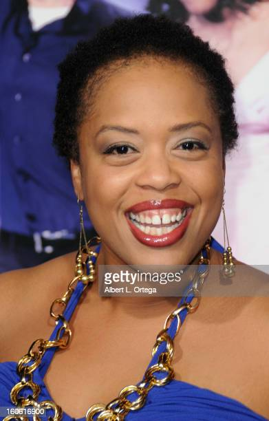 Actress Angela Grovey arrives for the Joyful Noise Los Angeles Premiere held at Grauman's Chinese Theater on January 9 2012 in Hollywood California