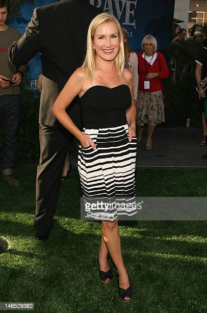 Actress Angela Kinsey arrives at Film Independent's 2012 Los Angeles Film Festival Premiere of Disney Pixar's Brave at Dolby Theatre on June 18 2012...