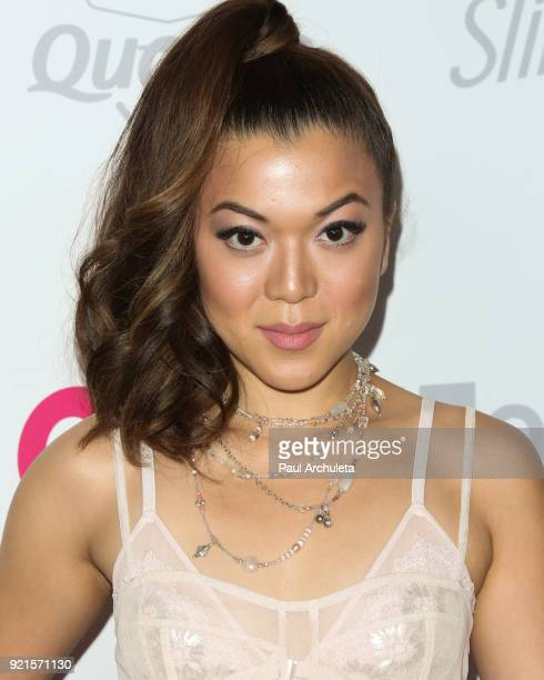 Actress Angela Ko attends OK Magazine's Summer kickoff party at The W Hollywood on May 17 2017 in Hollywood California