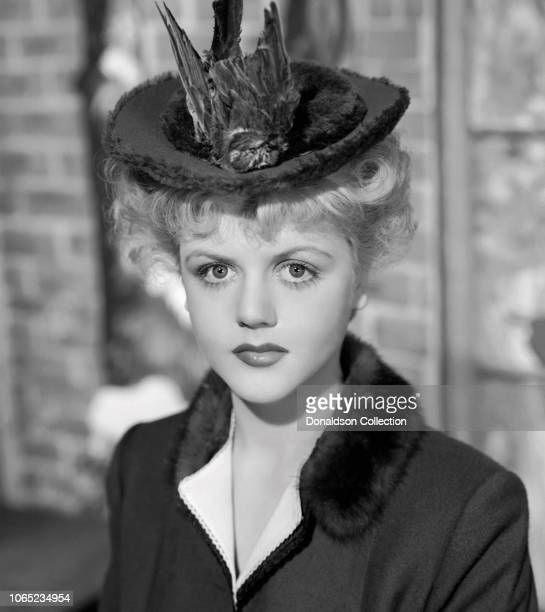Actress Angela Lansbury a scene from the movie 'The Picture of Dorian Gray'