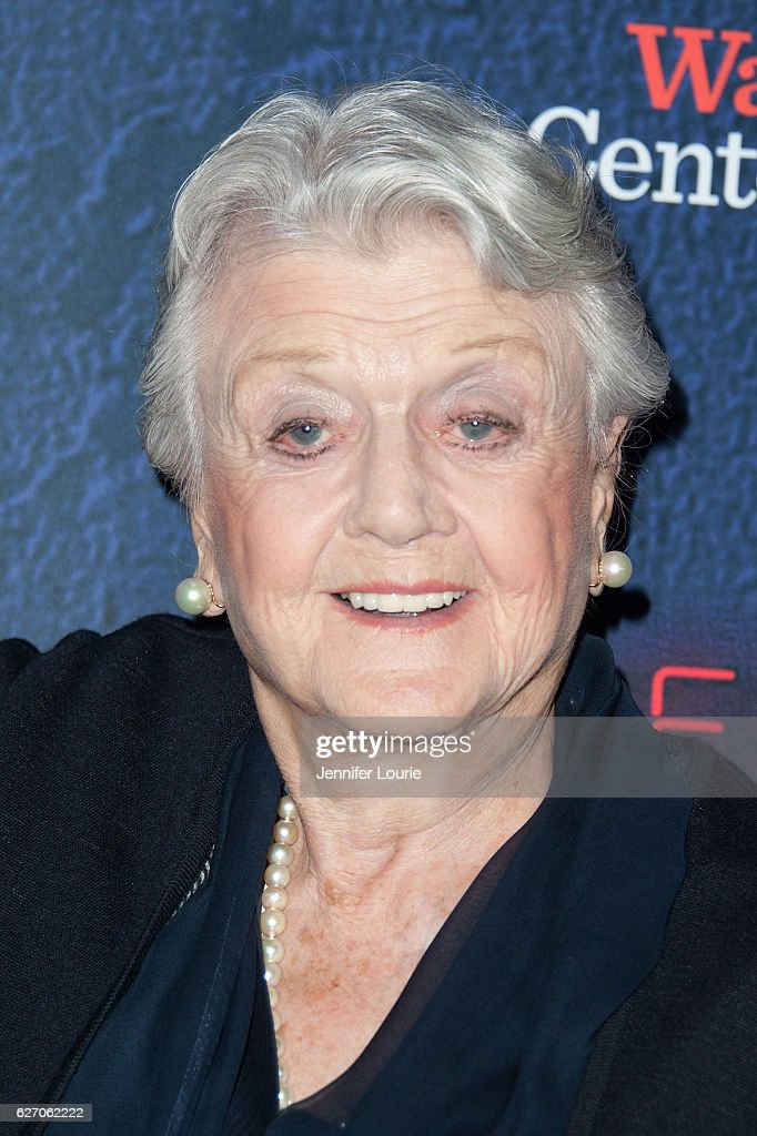 Actress Angela Lansbury arrives at the Opening Night of 'Merrily We Roll Along' at the Wallis Annenberg Center for the Performing Arts on November 30, 2016 in Beverly Hills, California.