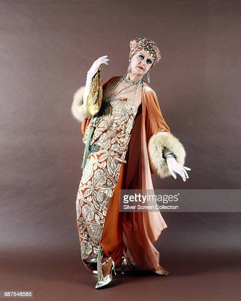 Actress Angela Lansbury as Mrs Salome Otterbourne in the film 'Death on the Nile' based on the book by Agatha Christie 1978