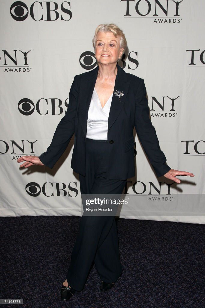 Actress Angela Lansbury attends the 2007 Tony Awards nominees press reception at the Marriott Marquis on May 16, 2007 in New York City.