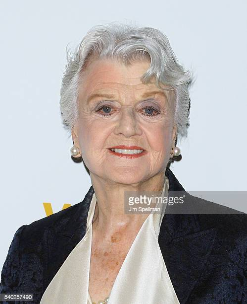 Actress Angela Lansbury attends the 2016 WNET Gala Salute to New York at The Plaza Hotel on June 14 2016 in New York City