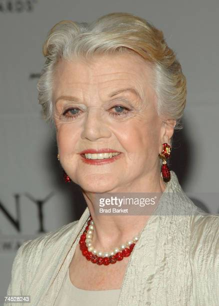 Actress Angela Lansbury attends the 61st Annual Tony Awards at Radio City Music Hall on June 10 2007 in New York City