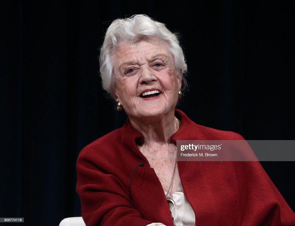 Actress Angela Lansbury speaks during the PBS segment of the 2018 Winter Television Critics Association Press Tour at The Langham Huntington, Pasadena on January 16, 2018 in Pasadena, California.