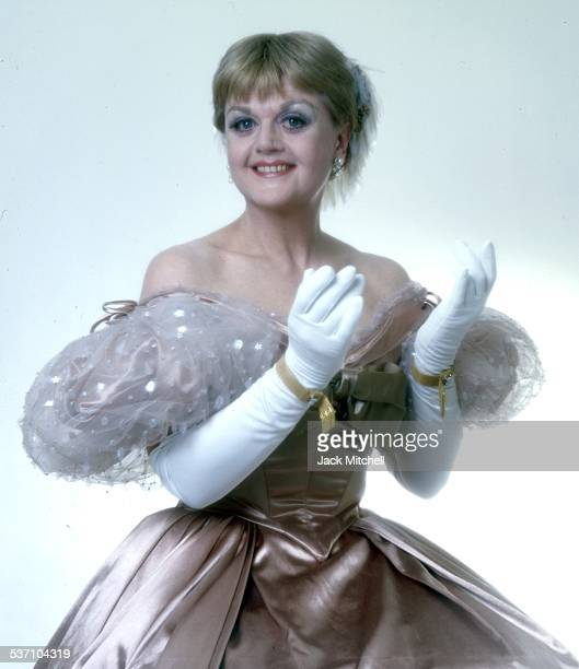 Actress Angela Lansbury starring in The King and I on Broadway in 1978