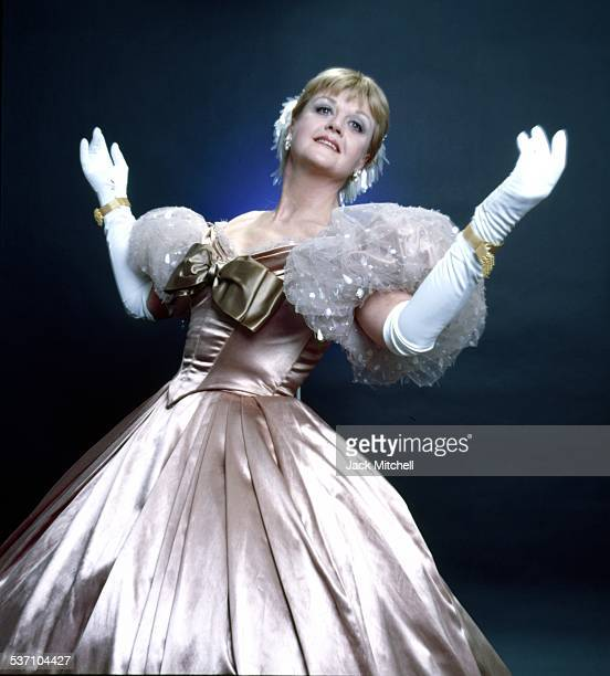 Actress Angela Lansbury starring in 'The King and I' on Broadway in 1978