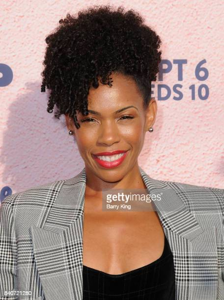 Actress Angela Lewis attends the premiere of FXX's 'You're The Worst' Season 4 at Museum of Ice Cream LA on August 29 2017 in Los Angeles California