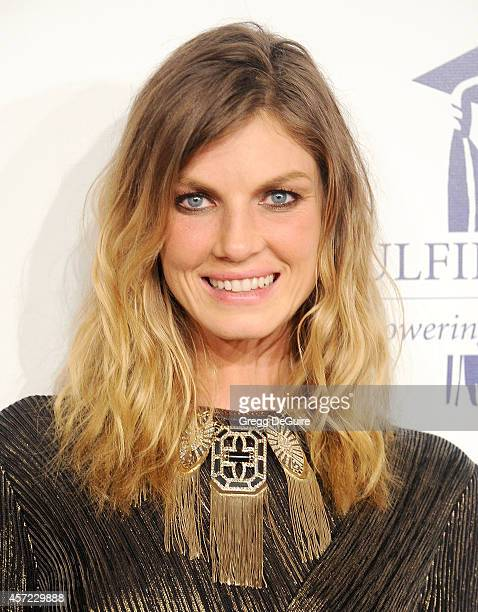 Actress Angela Lindvall arrives at the 20th Annual Fulfillment Fund Stars Benefit Gala at The Beverly Hilton Hotel on October 14 2014 in Beverly...