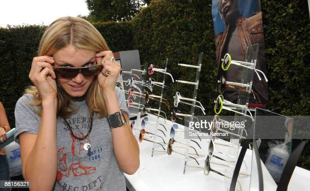 Actress Angela Lindvall attends The Byron Tracey Lounge held at Byron Tracey Salon on May 29 2009 in Beverly Hills California