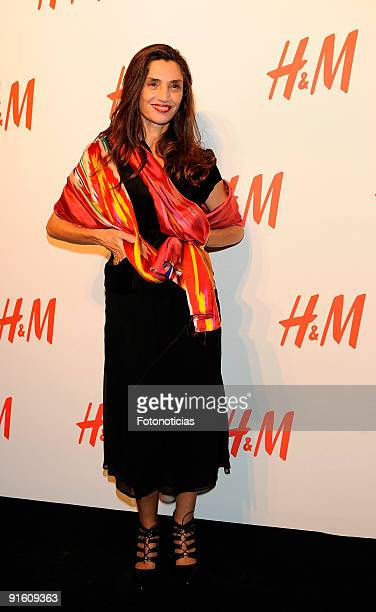 Actress Angela Molina attends the store opening of the HM Gran Via on October 8 2009 in Madrid Spain