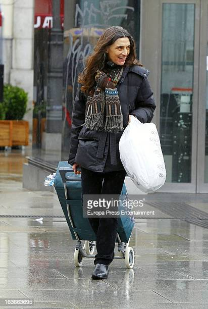 Actress Angela Molina is seen on March 13 2013 in Madrid Spain