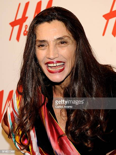 Actress Angela Molina of Spain attends the H M Store opening on October 8 2009 in Madrid Spain