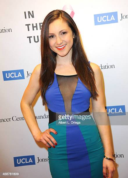 Actress Angela Mukul attends TJ Scott's In The Tub Book Party Launch to benefit UCLA's Jonsson Cancer Center for Breast Research hosted by Katrina...