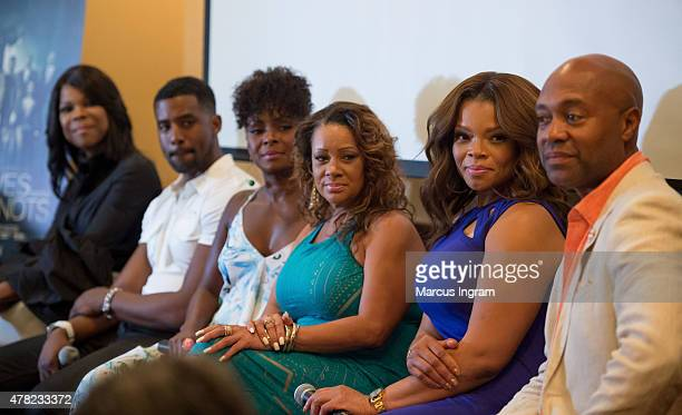 Actress Angela Robinson , actor Gavin Houston, actress Crystal Fox, actress Patrice Lovely, actress Kendra C. Johnson, and actor Palmer Williams...
