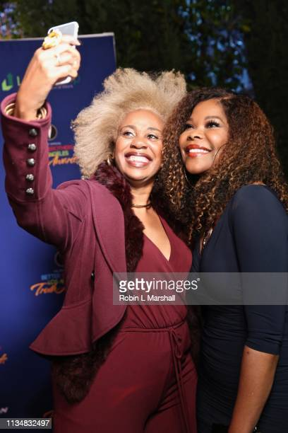 Actress Angela Robinson poses for a photo at the 5th Annual Truth Awards at Taglyan Cultural Complex on March 09 2019 in Hollywood California