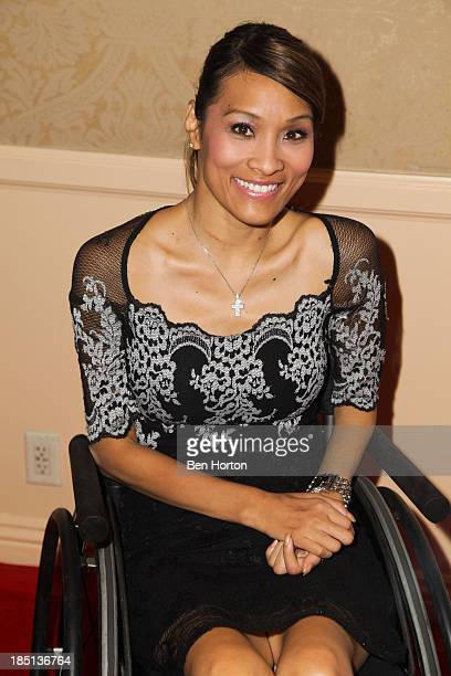Actress Angela Rockwood attends the 2013 Media Access Awards at The Beverly Hilton Hotel on October 17 2013 in Beverly Hills California
