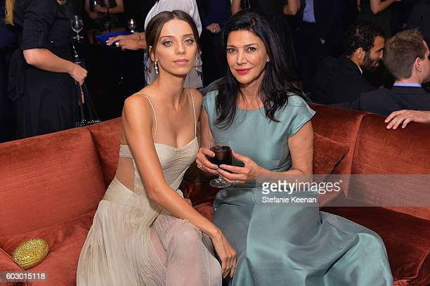 Actress Angela Sarafyan and Shohreh Aghdashloo at the The Promise TIFF party hosted by GREY GOOSE Vodka and Soho House Toronto on September 11 2016...
